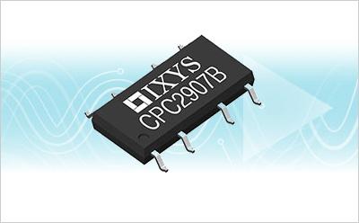 IXYS公司推出双通道60V单极继电器CPC2907B
